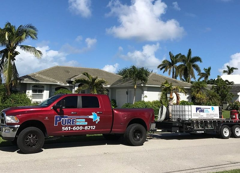 Hobe Sound pressure washing
