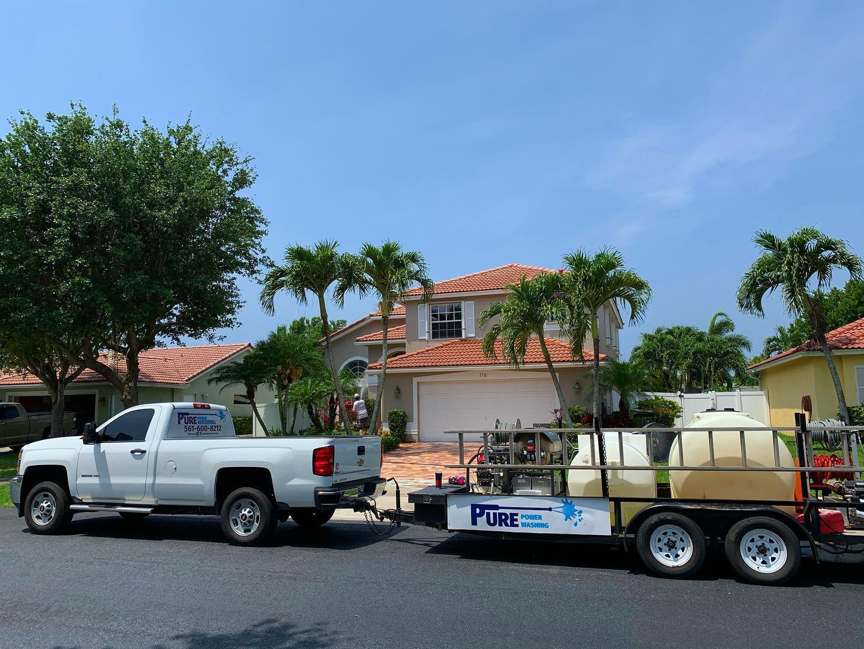 pressure washing Palm City