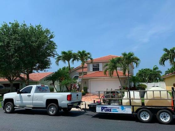 Boca Raton pressure cleaning
